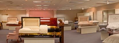Delano Funeral Home interior